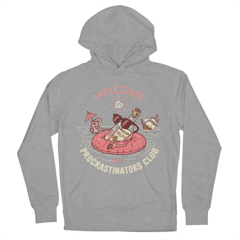 HELP! Women's French Terry Pullover Hoody by gotoup's Artist Shop