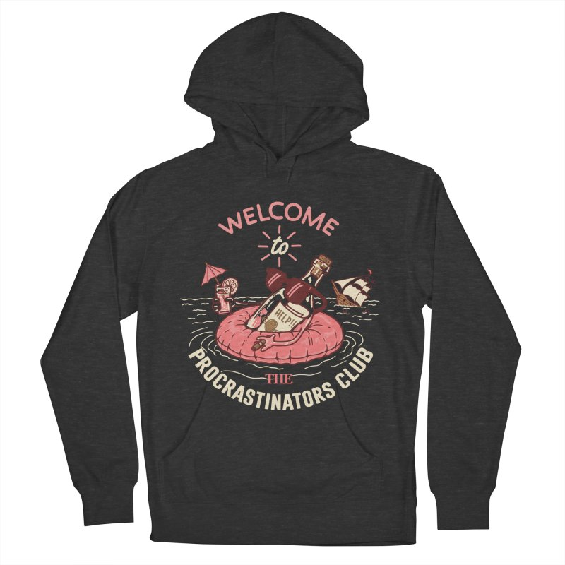 HELP! Men's French Terry Pullover Hoody by gotoup's Artist Shop