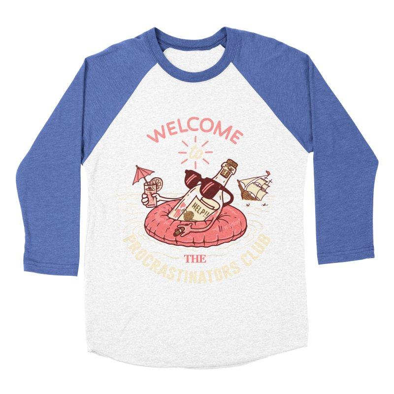 HELP! Men's Baseball Triblend Longsleeve T-Shirt by gotoup's Artist Shop