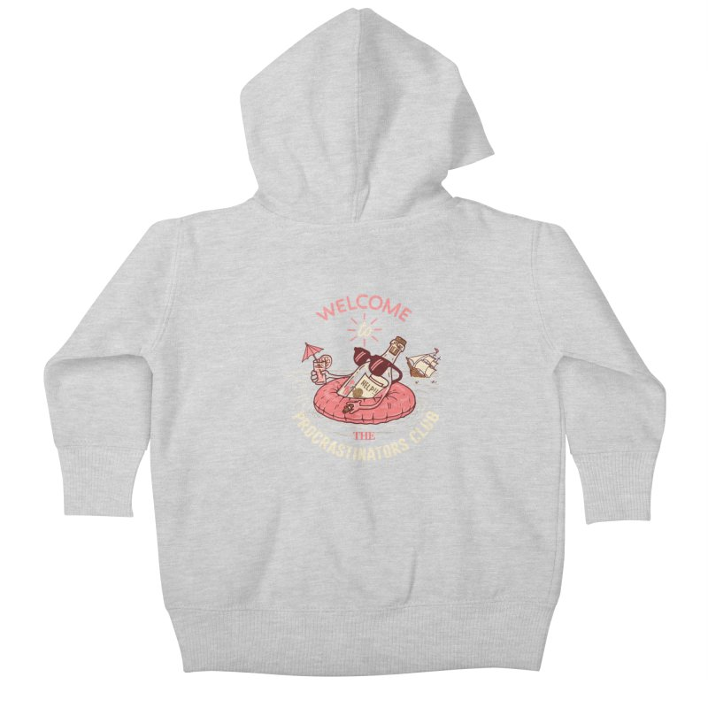 HELP! Kids Baby Zip-Up Hoody by gotoup's Artist Shop