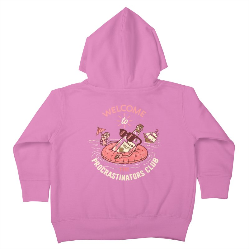 HELP! Kids Toddler Zip-Up Hoody by gotoup's Artist Shop