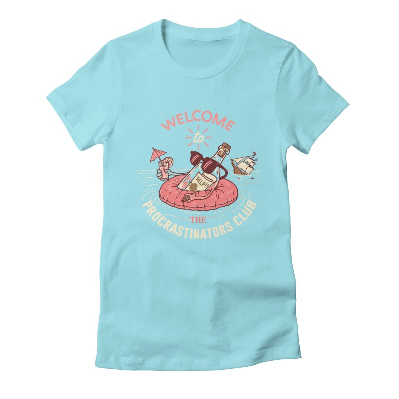 HELP! Women's Fitted T-Shirt by gotoup's Artist Shop
