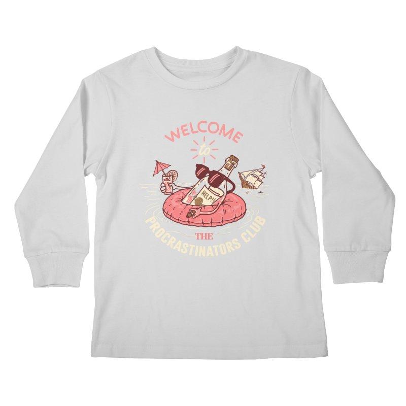 HELP! Kids Longsleeve T-Shirt by gotoup's Artist Shop