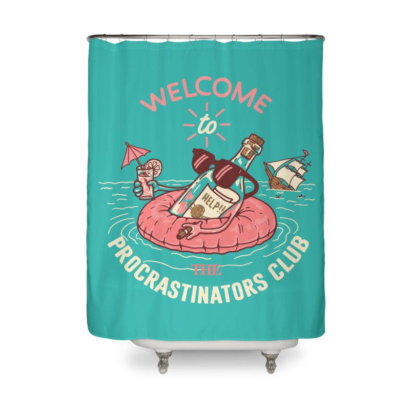 HELP! Home Shower Curtain by gotoup's Artist Shop
