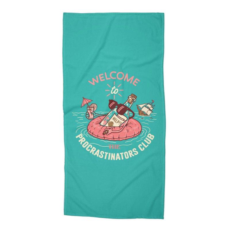 HELP! Accessories Beach Towel by gotoup's Artist Shop