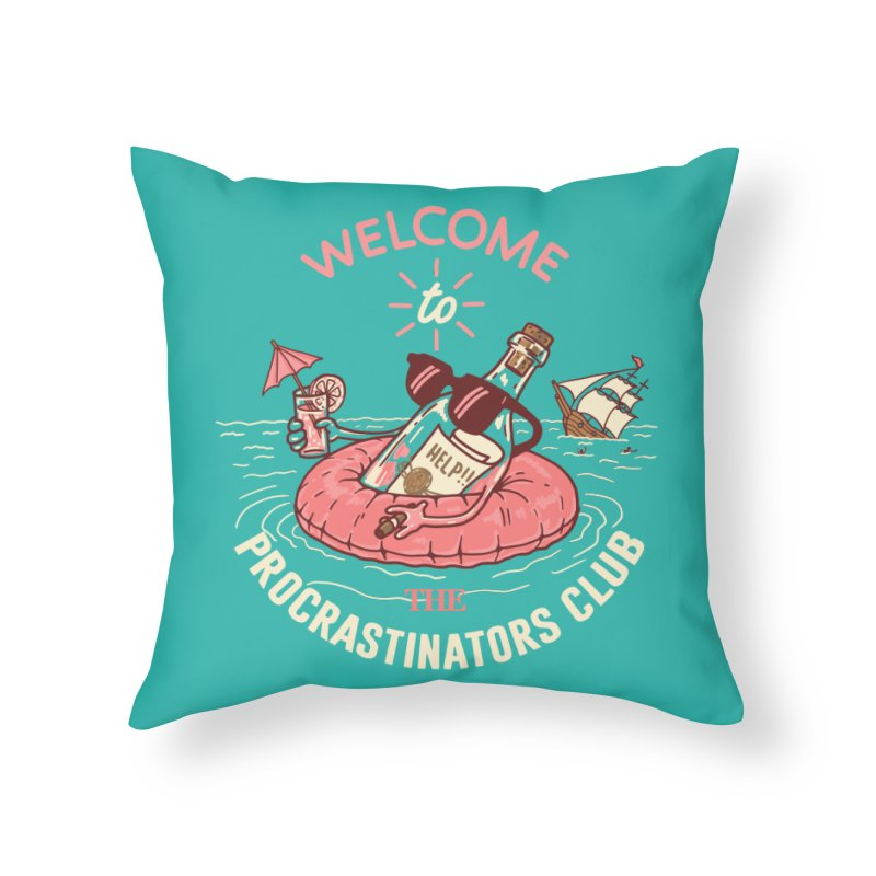 HELP! Home Throw Pillow by gotoup's Artist Shop
