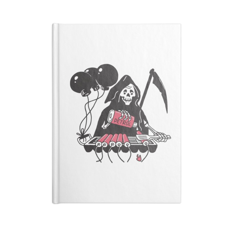 HOT BOMB Accessories Blank Journal Notebook by gotoup's Artist Shop