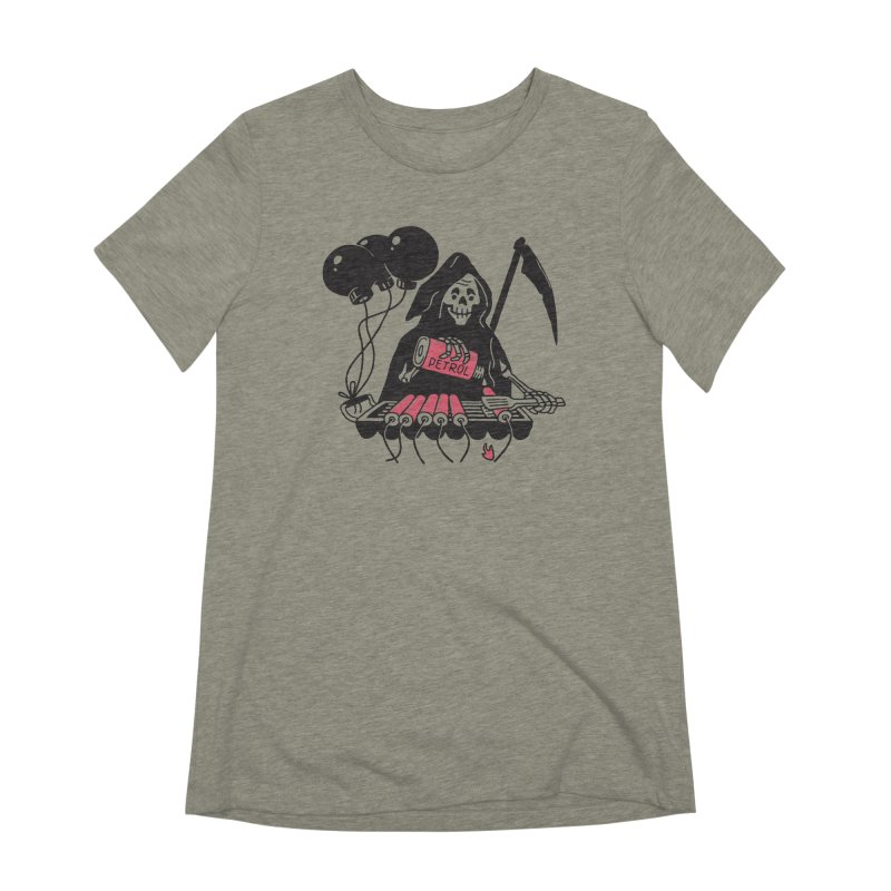 HOT BOMB Women's Extra Soft T-Shirt by gotoup's Artist Shop