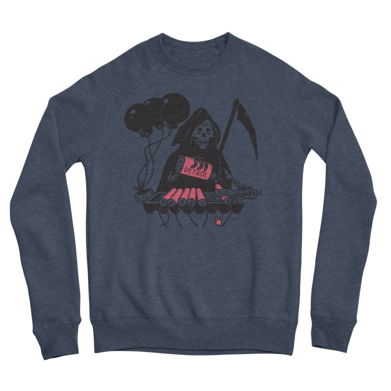HOT BOMB Men's Sponge Fleece Sweatshirt by gotoup's Artist Shop