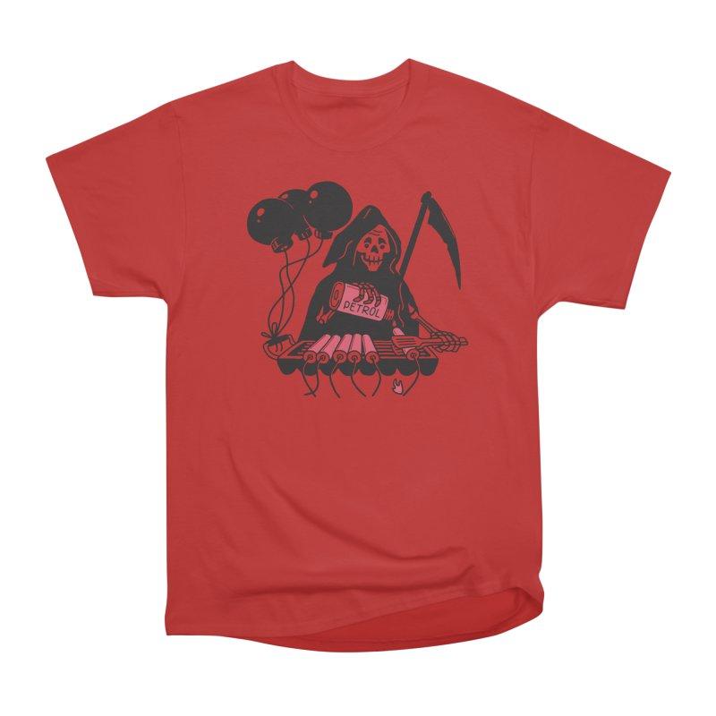 HOT BOMB Men's Heavyweight T-Shirt by gotoup's Artist Shop