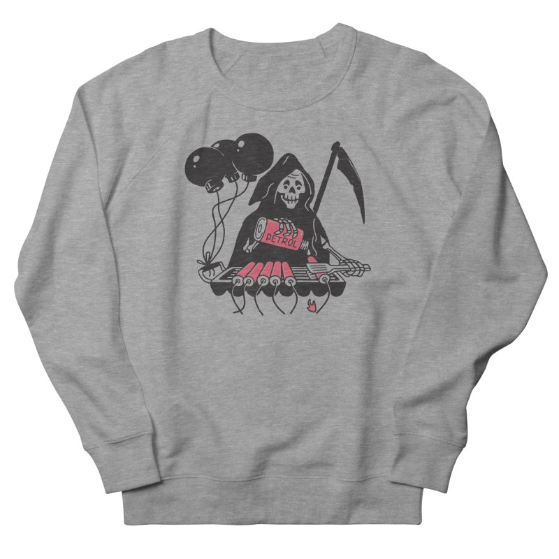HOT BOMB Men's French Terry Sweatshirt by gotoup's Artist Shop