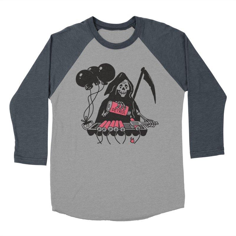 HOT BOMB Men's Baseball Triblend Longsleeve T-Shirt by gotoup's Artist Shop
