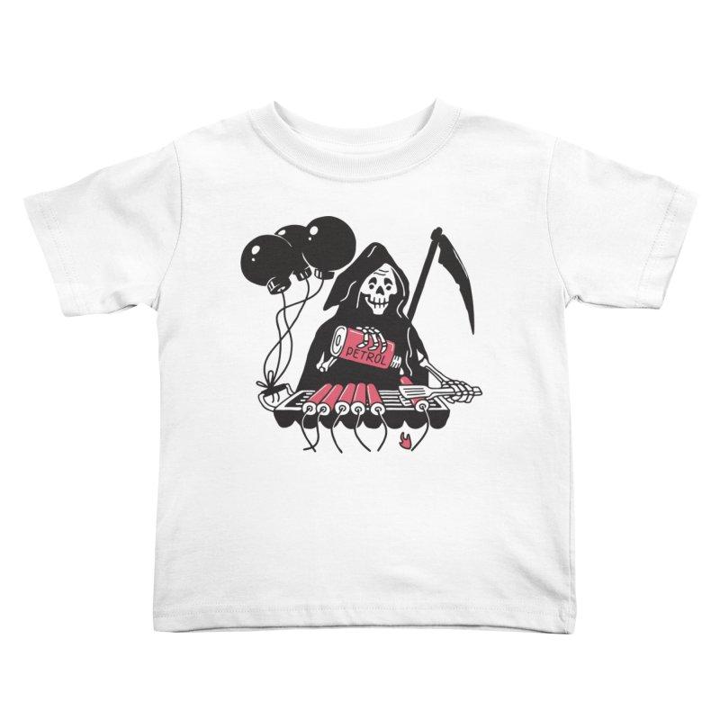 HOT BOMB Kids Toddler T-Shirt by gotoup's Artist Shop