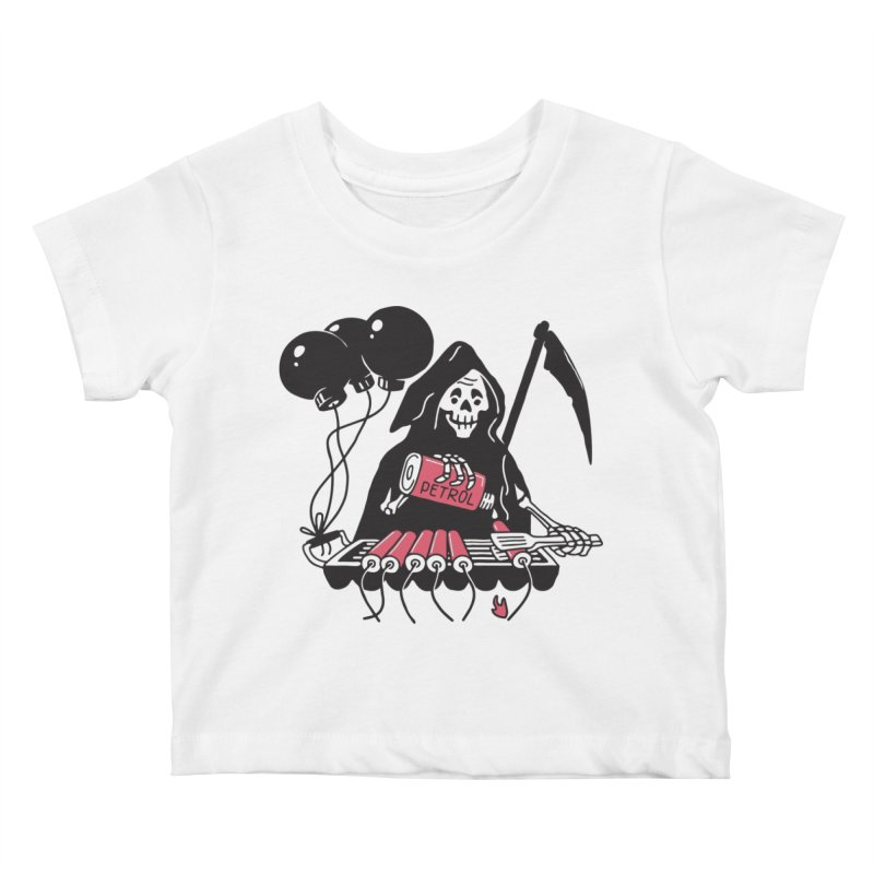HOT BOMB Kids Baby T-Shirt by gotoup's Artist Shop