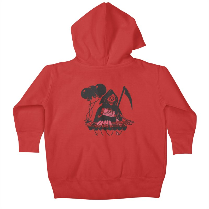 HOT BOMB Kids Baby Zip-Up Hoody by gotoup's Artist Shop