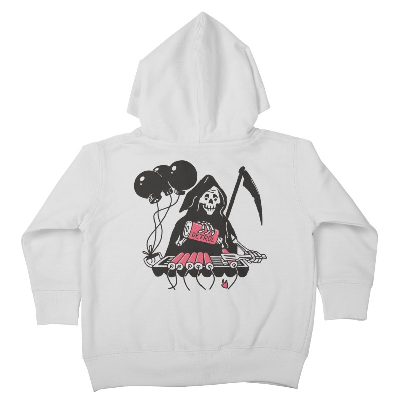HOT BOMB Kids Toddler Zip-Up Hoody by gotoup's Artist Shop