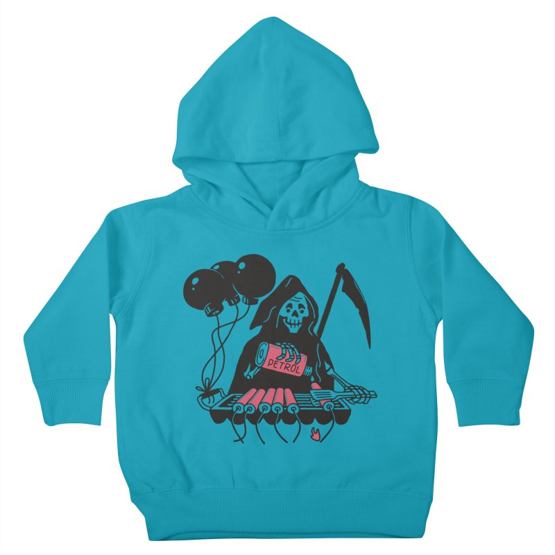 HOT BOMB Kids Toddler Pullover Hoody by gotoup's Artist Shop