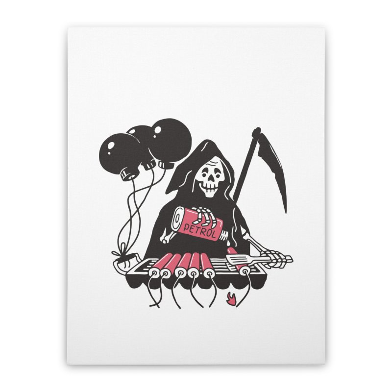 HOT BOMB Home Stretched Canvas by gotoup's Artist Shop