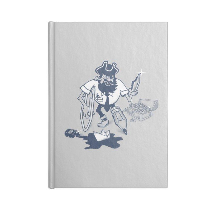 YO-HO-HO Accessories Blank Journal Notebook by gotoup's Artist Shop