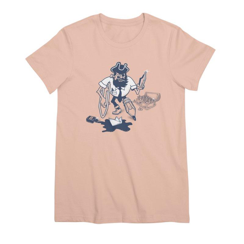 YO-HO-HO Women's Premium T-Shirt by gotoup's Artist Shop