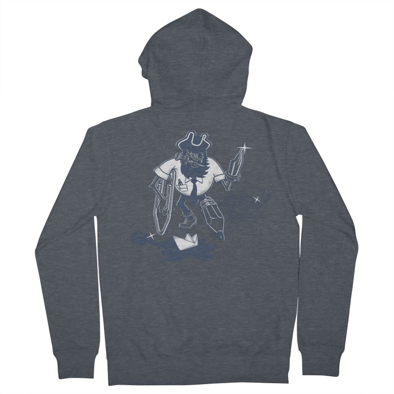 YO-HO-HO Women's French Terry Zip-Up Hoody by gotoup's Artist Shop