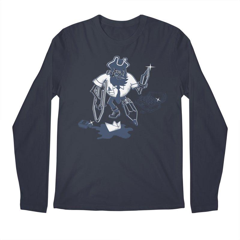 YO-HO-HO Men's Regular Longsleeve T-Shirt by gotoup's Artist Shop