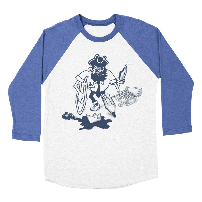 YO-HO-HO Men's Baseball Triblend Longsleeve T-Shirt by gotoup's Artist Shop