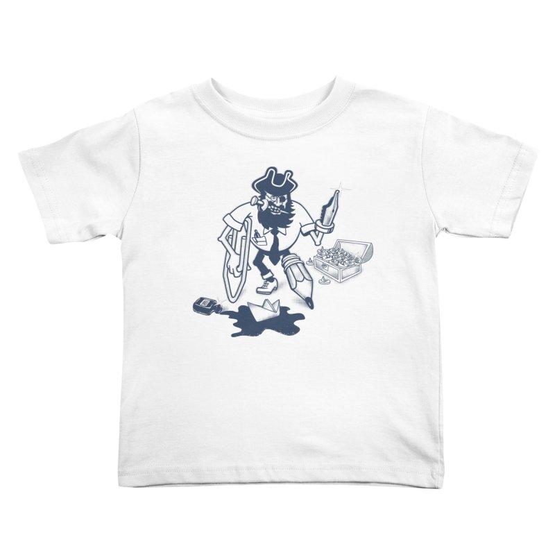 YO-HO-HO Kids Toddler T-Shirt by gotoup's Artist Shop