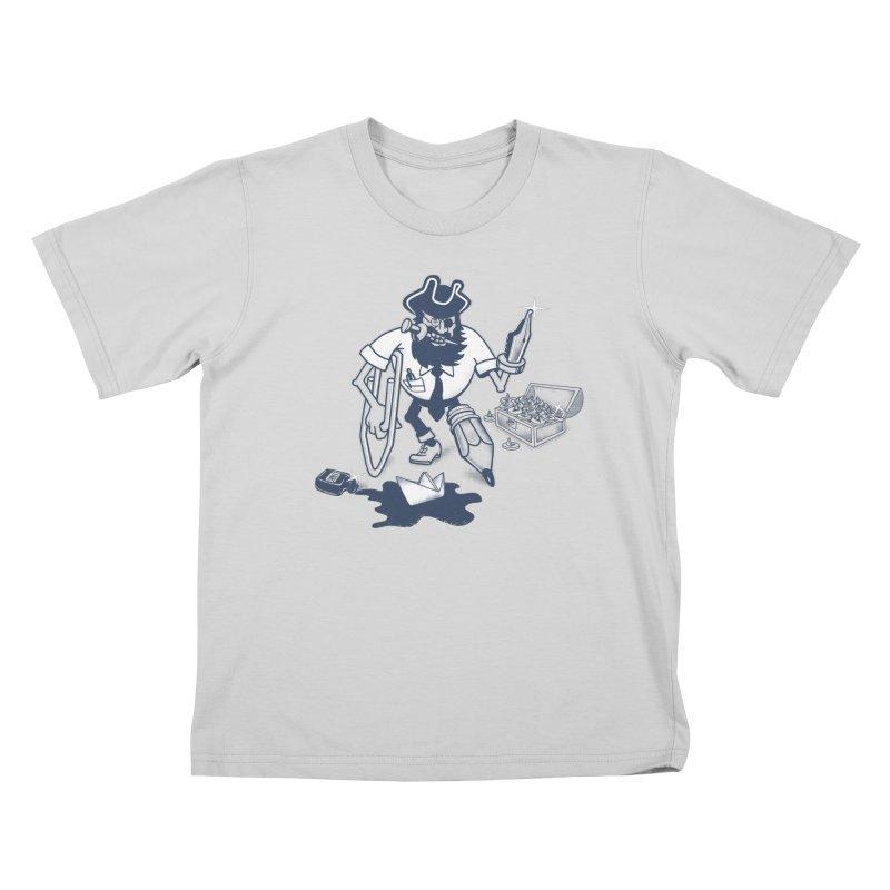 YO-HO-HO Kids T-Shirt by gotoup's Artist Shop