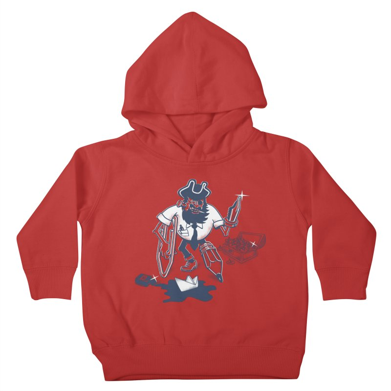 YO-HO-HO Kids Toddler Pullover Hoody by gotoup's Artist Shop