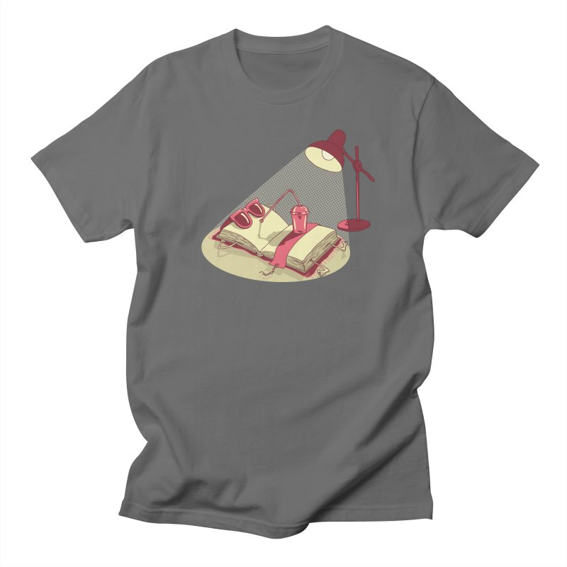 BOOK ON THE BEACH Women's Regular Unisex T-Shirt by gotoup's Artist Shop