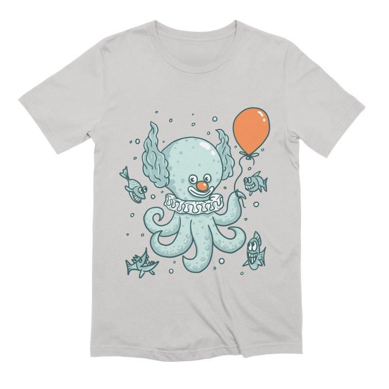 octopus clown Men's Extra Soft T-Shirt by gotoup's Artist Shop