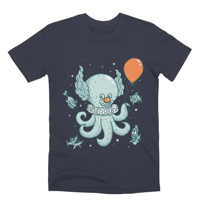octopus clown Men's Premium T-Shirt by gotoup's Artist Shop