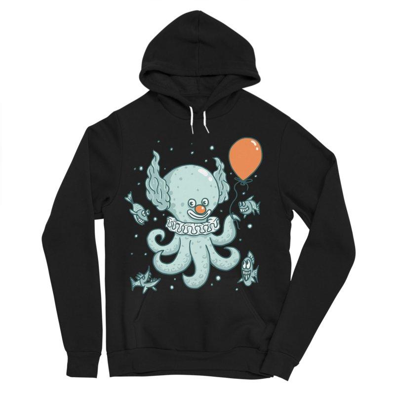 octopus clown Men's Sponge Fleece Pullover Hoody by gotoup's Artist Shop