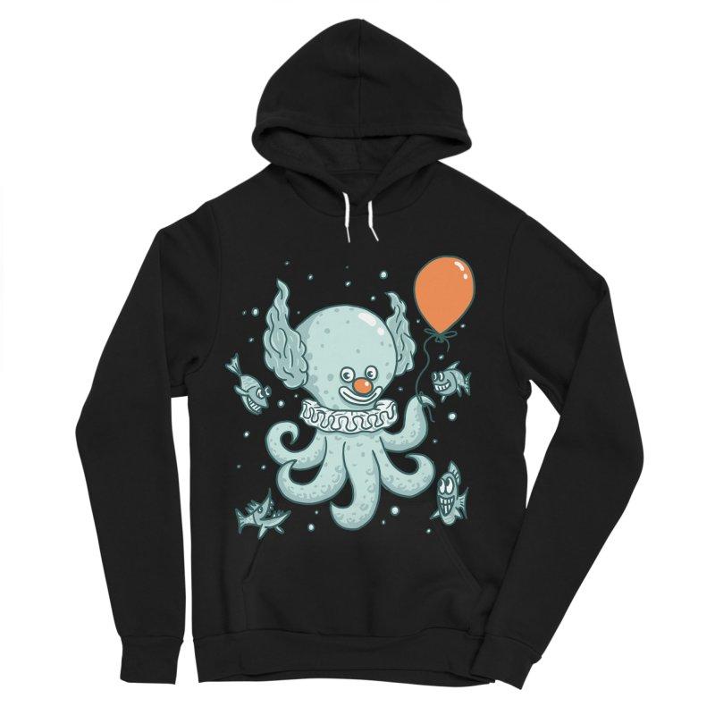 octopus clown Women's Sponge Fleece Pullover Hoody by gotoup's Artist Shop