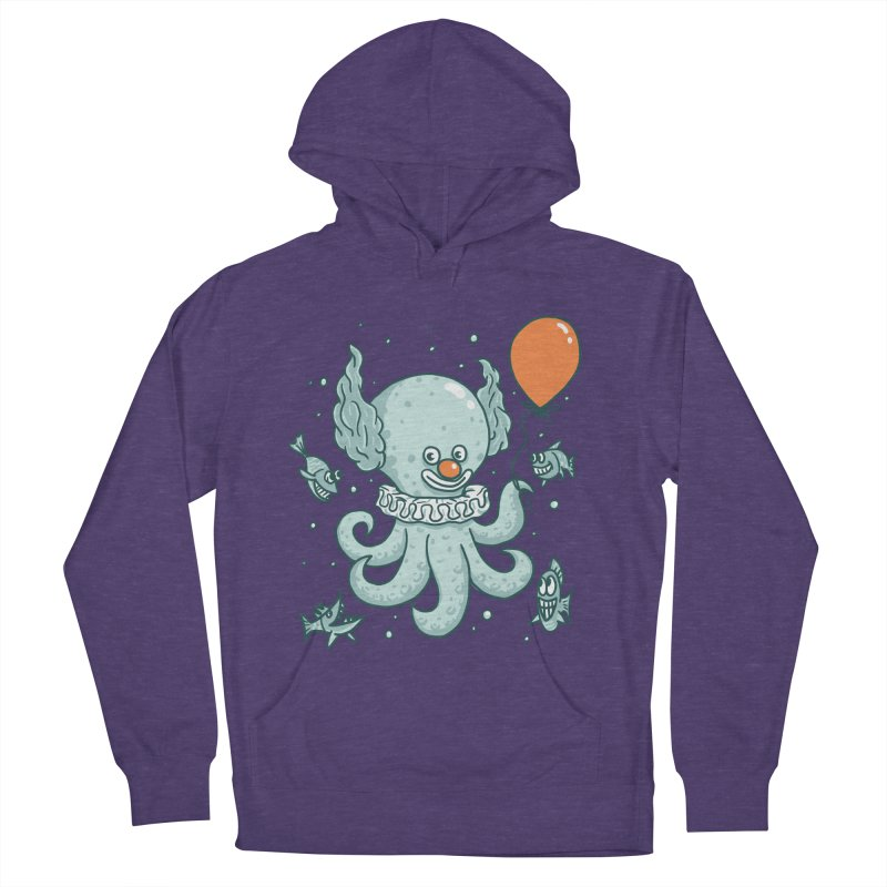 octopus clown Men's French Terry Pullover Hoody by gotoup's Artist Shop