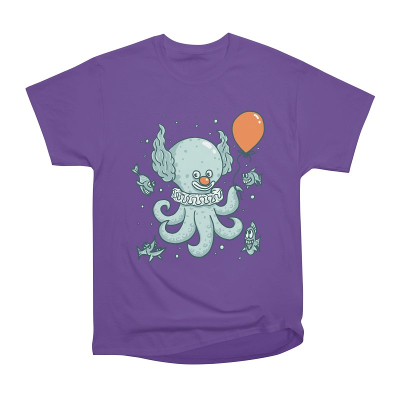 octopus clown Men's Heavyweight T-Shirt by gotoup's Artist Shop