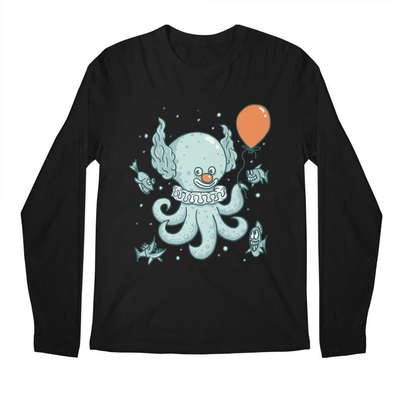 octopus clown Men's Regular Longsleeve T-Shirt by gotoup's Artist Shop