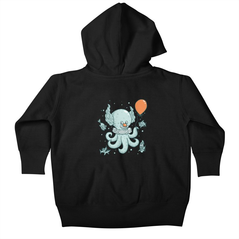 octopus clown Kids Baby Zip-Up Hoody by gotoup's Artist Shop