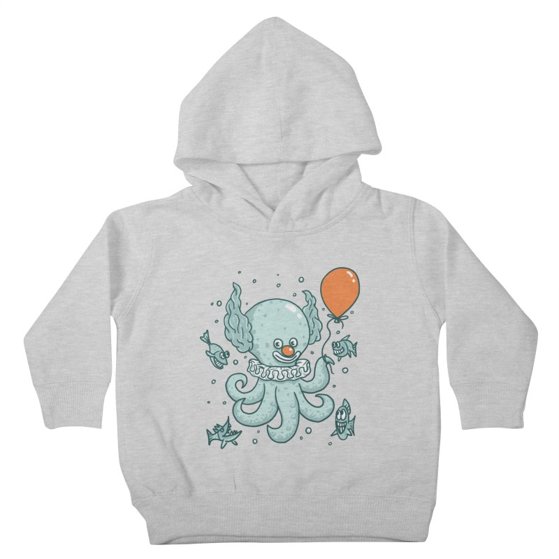 octopus clown Kids Toddler Pullover Hoody by gotoup's Artist Shop