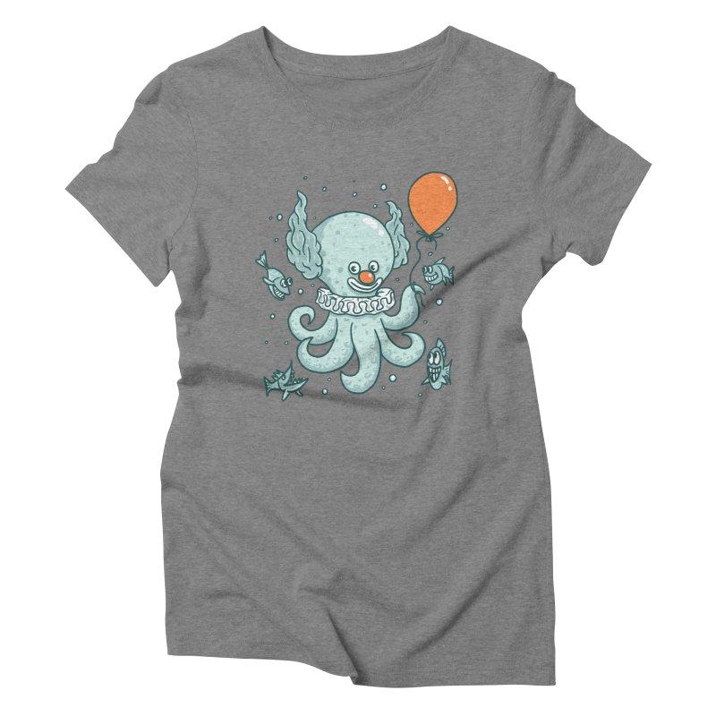 octopus clown Women's Triblend T-Shirt by gotoup's Artist Shop