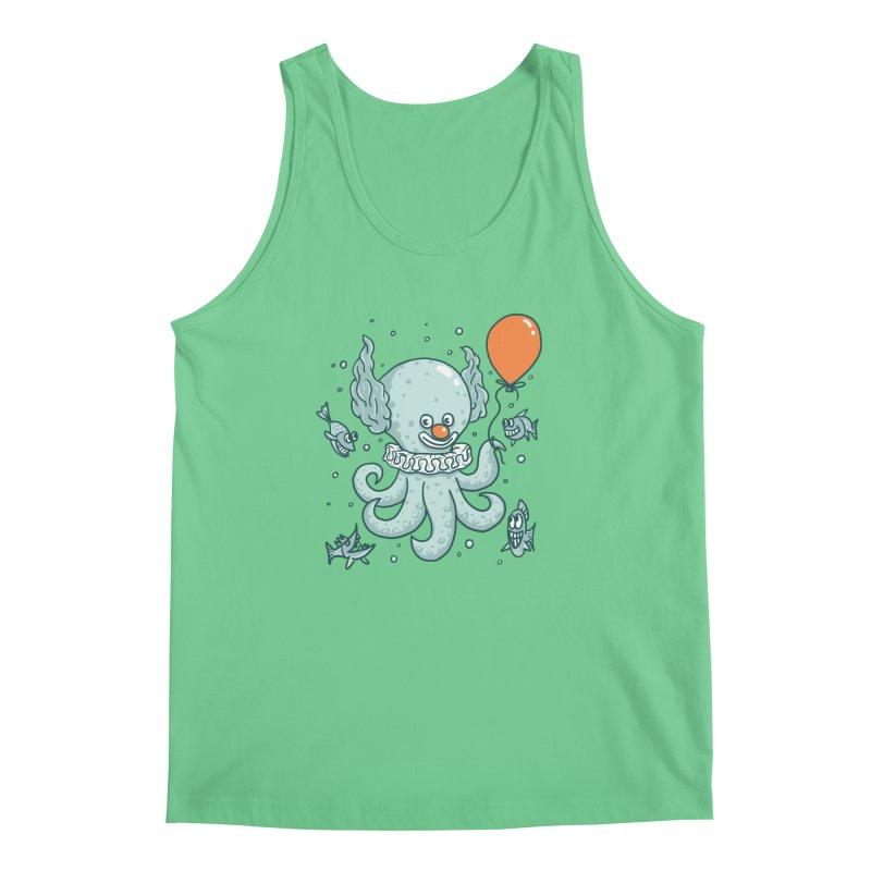 octopus clown Men's Regular Tank by gotoup's Artist Shop