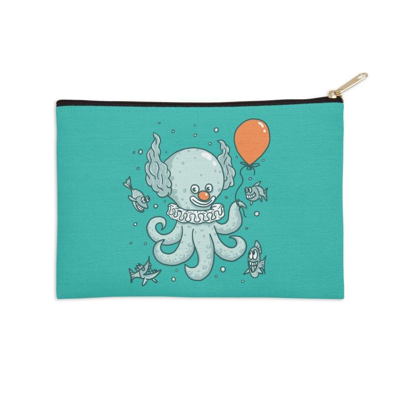 octopus clown Accessories Zip Pouch by gotoup's Artist Shop