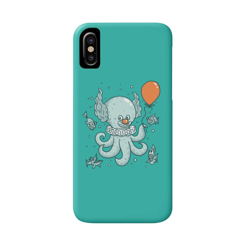 octopus clown Accessories Phone Case by gotoup's Artist Shop
