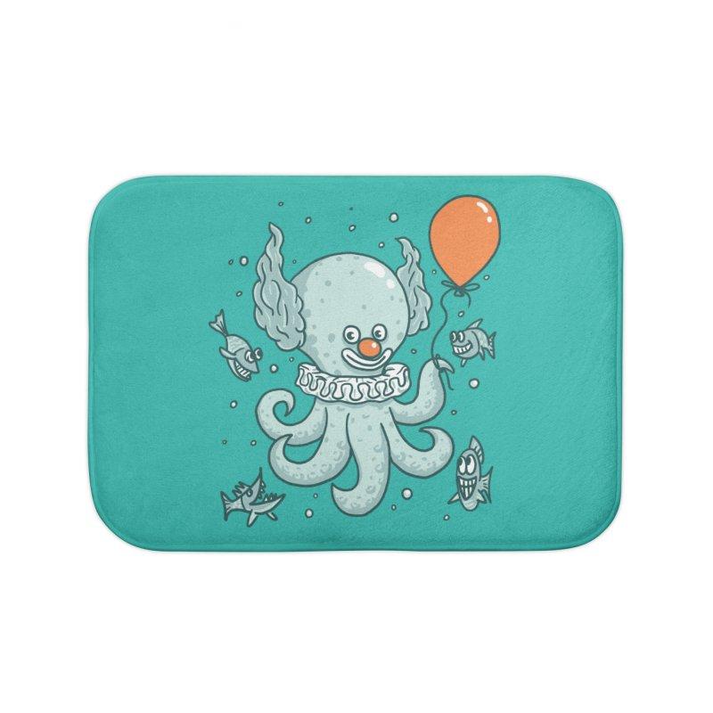 octopus clown Home Bath Mat by gotoup's Artist Shop