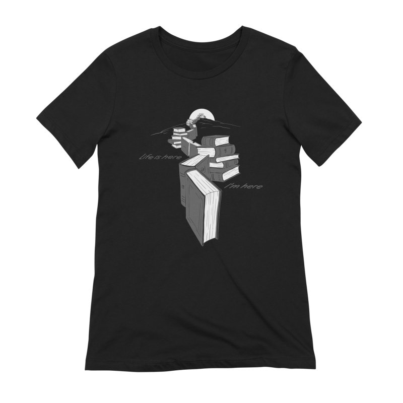 MY LIFE Women's Extra Soft T-Shirt by gotoup's Artist Shop