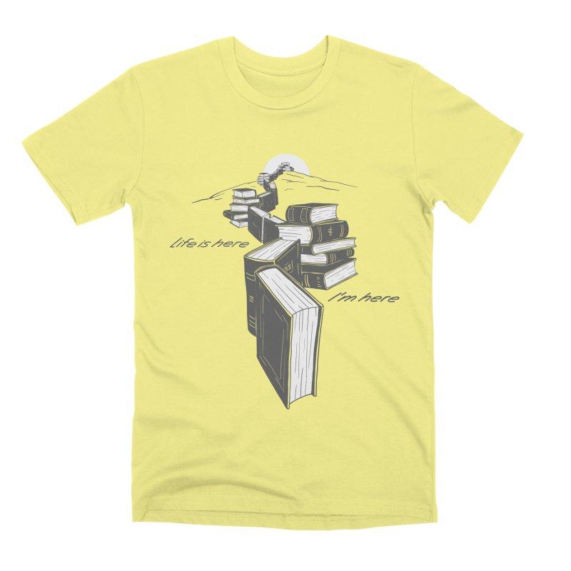 MY LIFE Men's Premium T-Shirt by gotoup's Artist Shop