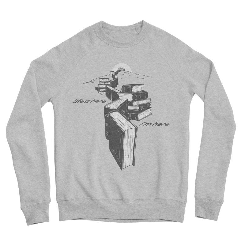 MY LIFE Women's Sponge Fleece Sweatshirt by gotoup's Artist Shop