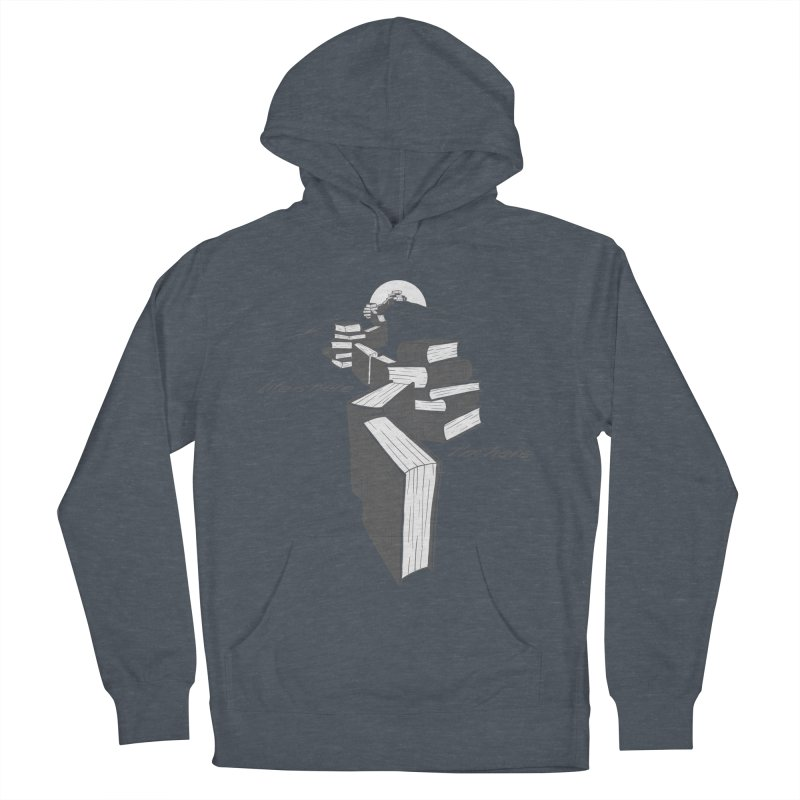 MY LIFE Women's French Terry Pullover Hoody by gotoup's Artist Shop