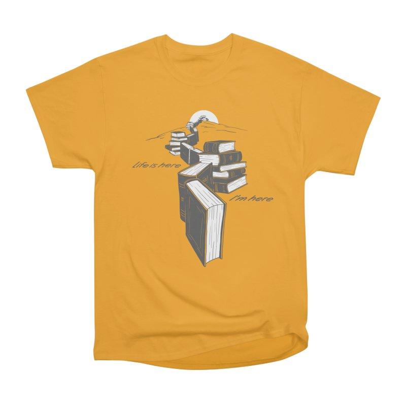 MY LIFE Men's Heavyweight T-Shirt by gotoup's Artist Shop